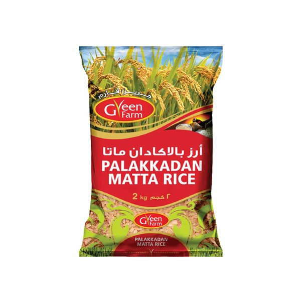 Green Farm Palakkadan Matta Rice 2kg