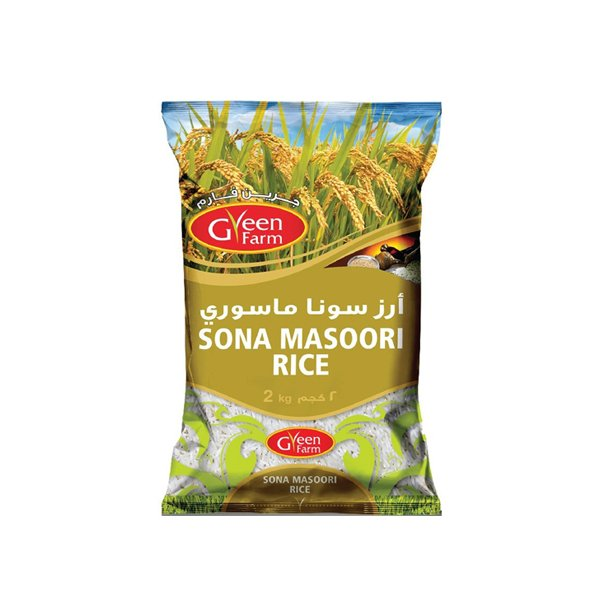 Green Farm Sona Masoori Rice 2kg