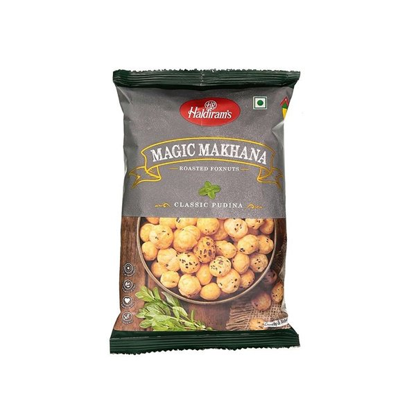 Haldirams Roasted Foxnuts Salt N Pepper  40g
