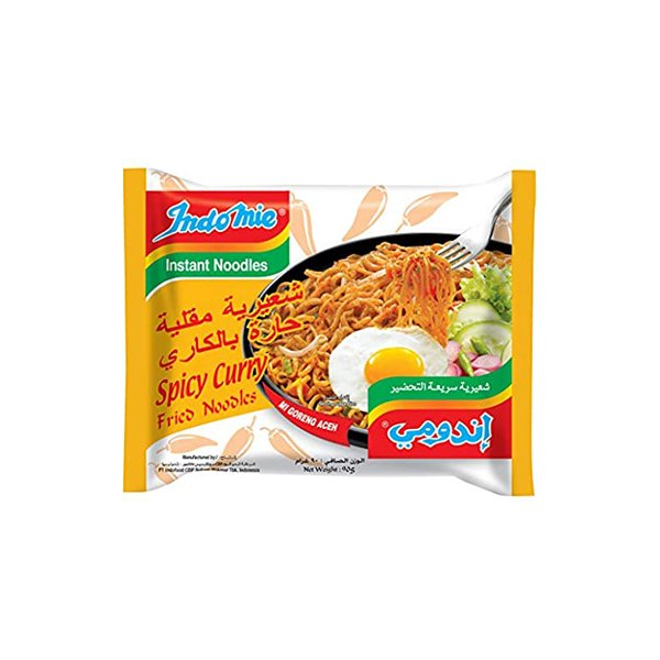 Indomie Halal Chicken Curry Noodle 80 G