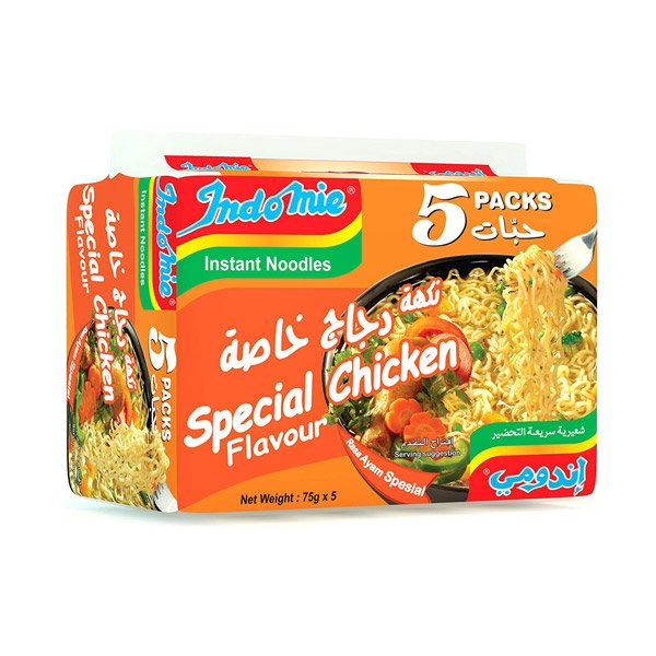 Indomie Indomie Special Chicken, 5 X 75gm