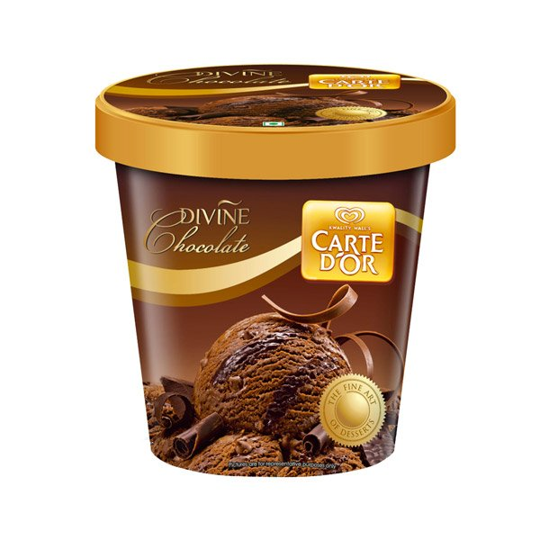 Kwality Walls Carte Dor Divine Chocolate 750ml