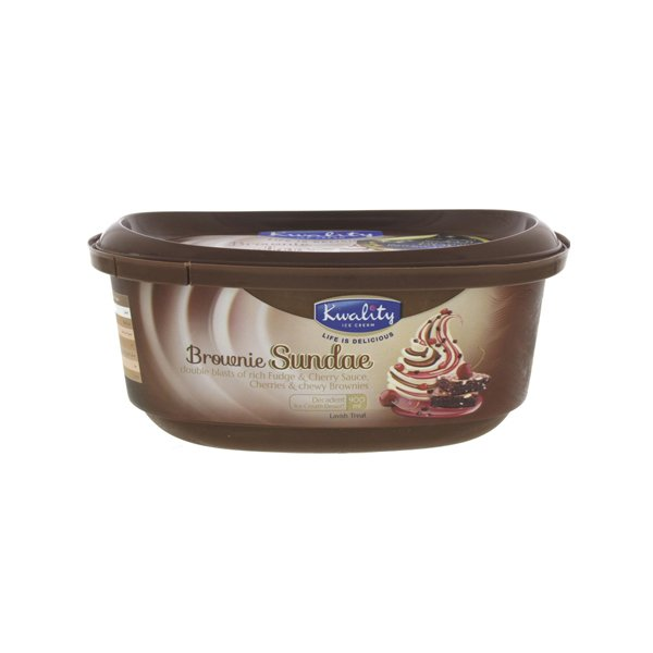 Kwality Fudge Sundae Ice Cream 220ml