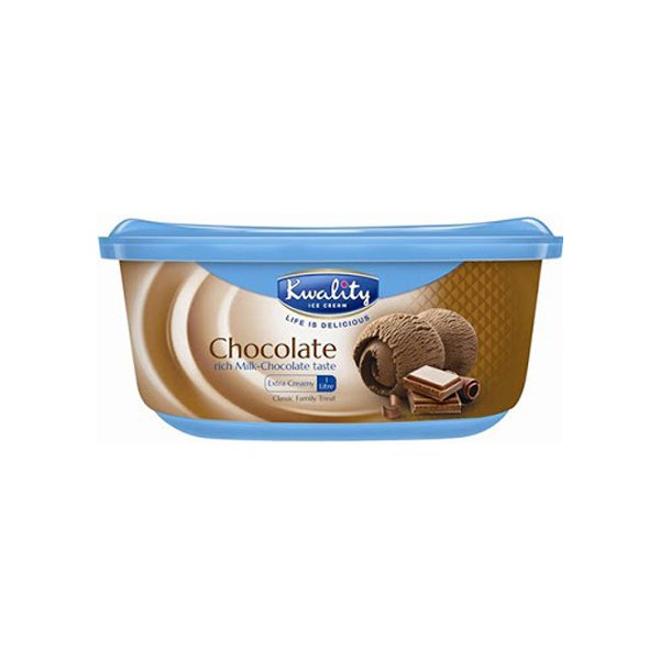 Kwality Ice Cream Chocolate 500ml