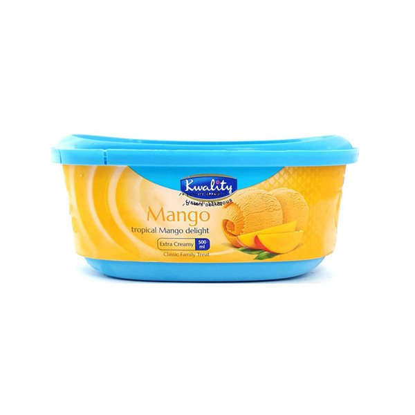 Kwality Mango Family Icecream 500ml