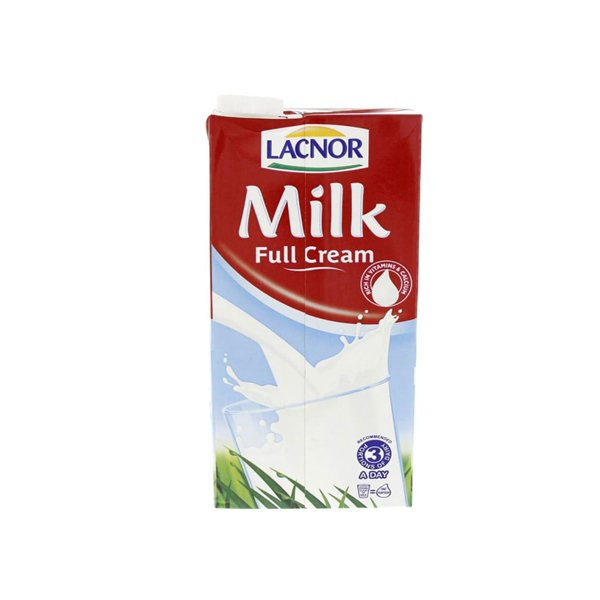 Lacnor Full Cream Milk 1l