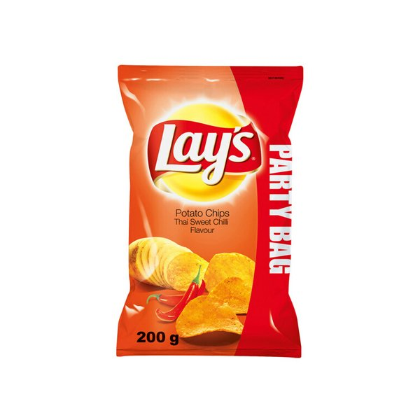 Lay's Salt & Vinegar Potato Chips 170gm