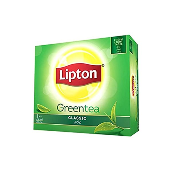 Lipton Green Tea Pure Non Bitter 100 Tea Bags