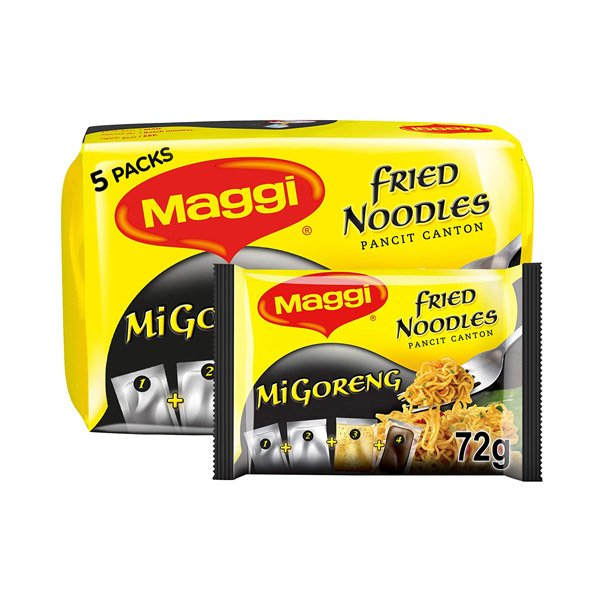 Maggi Mi-goreng Fried Noodles 72g (pack Of 5)
