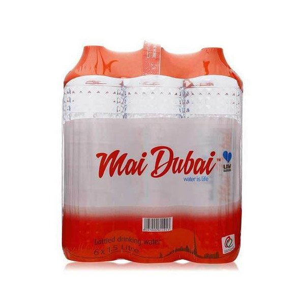 Mai Dubai Bottled Drinking Water 1.5l X Pack Of 6