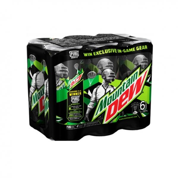 Mountain Dew 6 X 330ml