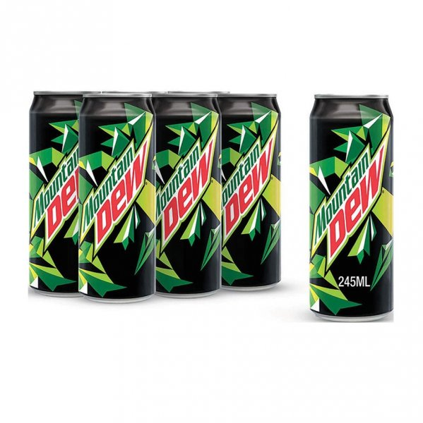 Mountain Dew 6 X 245ml