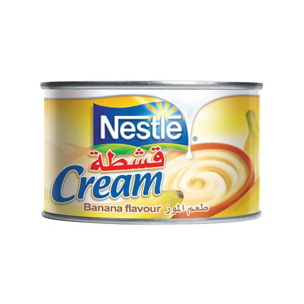 Nestle Cream Banana Flavour 175ml