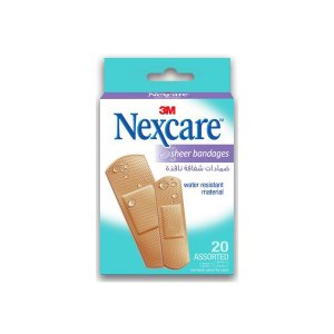 Nexcare Pack Of 20 Sheer Bandages