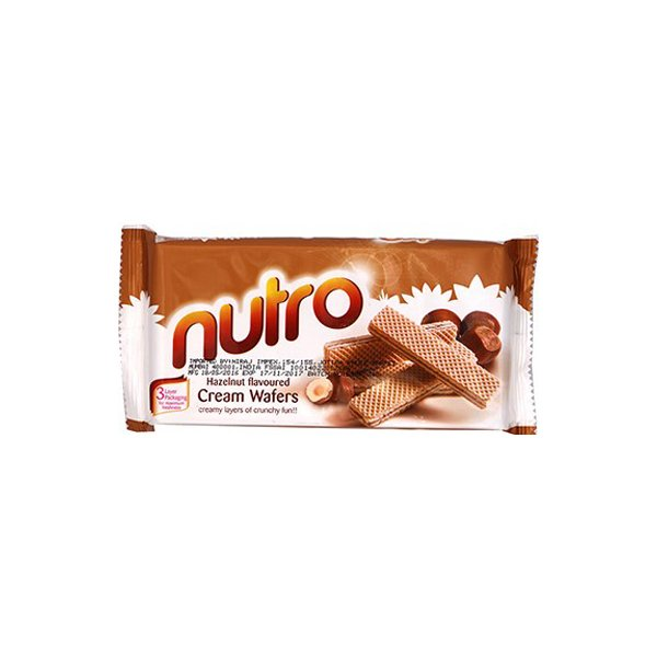 Nutro Hazelnut Cream Wafers 75g
