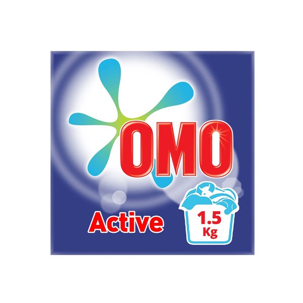 Omo Active Powder Laundry Detergent 1.5kg