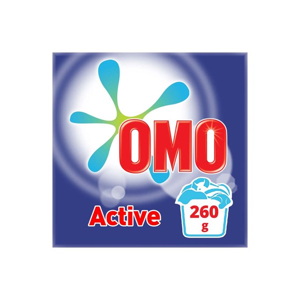 Omo Active Powder Laundry Detergent 260g