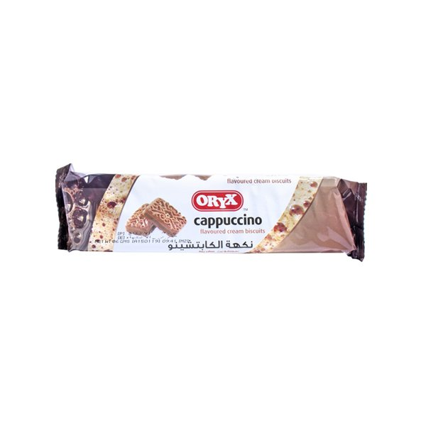 Oryx Cappuccino Cream Biscuit 90g