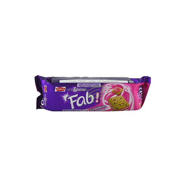 Parle Fabi Strawberry 112g