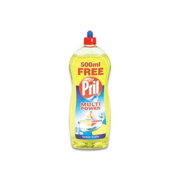 Pril Lemon Dishwashing Liquid 1.5 Liter