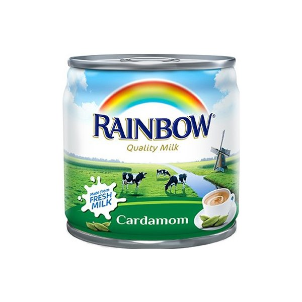 Rainbow Cardamom Evaporated Milk 410g