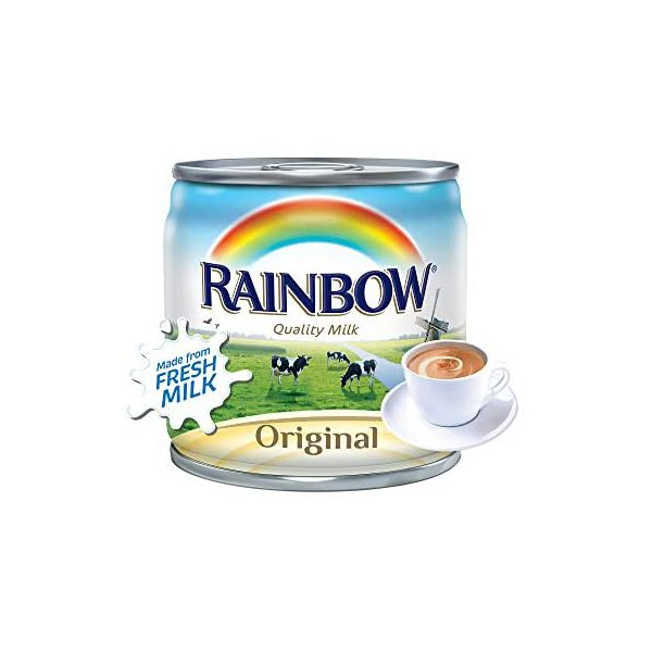 Rainbow Evaporated Milk With Vitamin D 170g