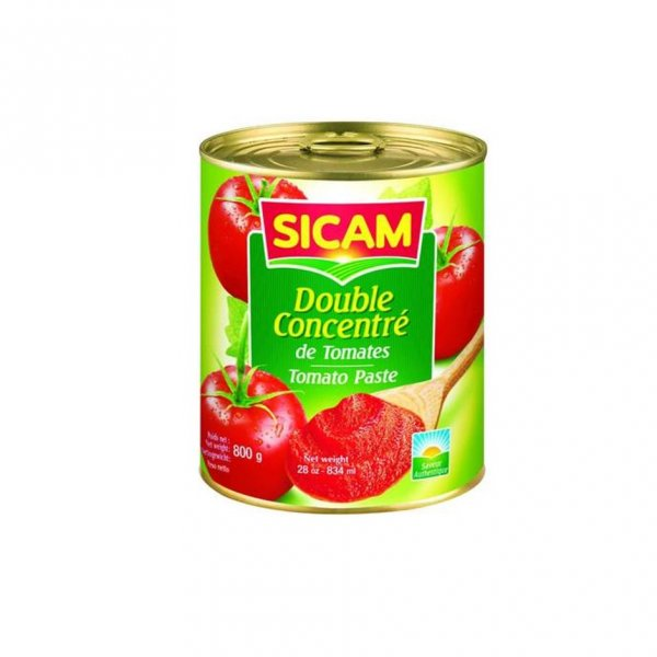 Sicam Double Concentrate Tomato Paste 400g