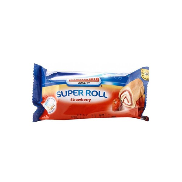 Americana Strawberry Roll 60g