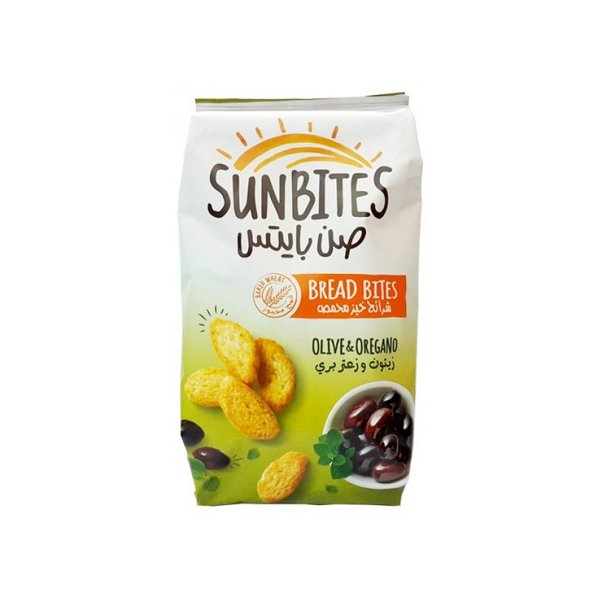Sunbites Olive And Oregano 50g