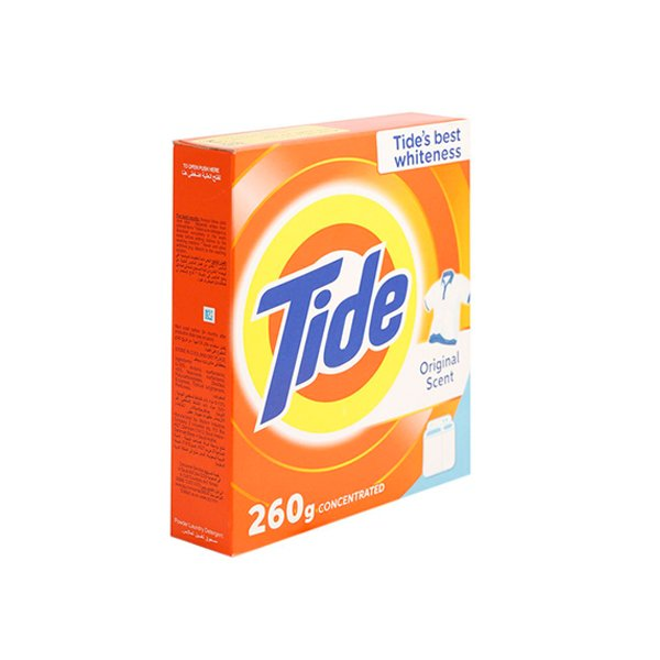 Tide Original Scent Detergent Powder 260 Gm