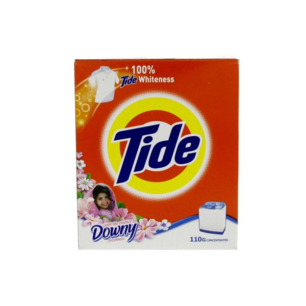 Tide With Touch Of Downy Detergent Powder - 110 G