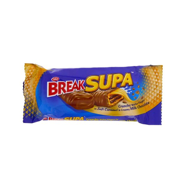Tiffany Break Supa Crunchywafer Chocolate 38g