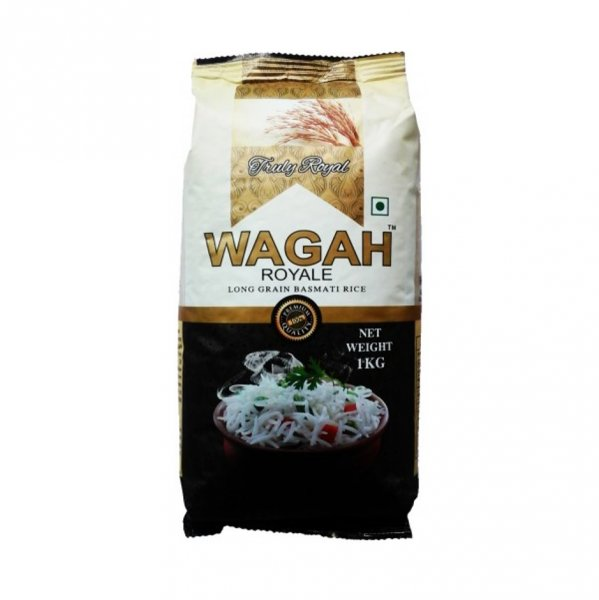 Wagah Steam Basmati Rice  1kg